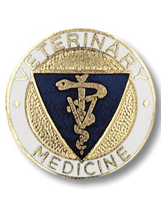 Prestige Veterinary Medicine Pin