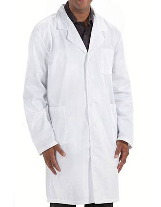 Prestige Men's Back Belt Long Lab Coat