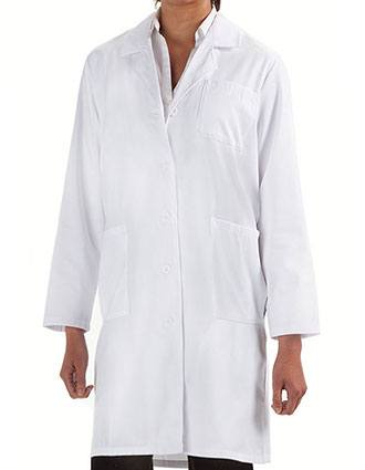 Prestige Women's Back Belt Long Lab Coat