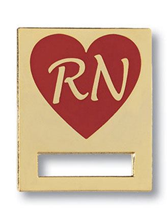 Prestige Registered Nurse Heart Badge and Professional Tac