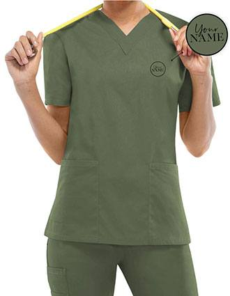 Women's V-Neck Classic Fit Scrub Top