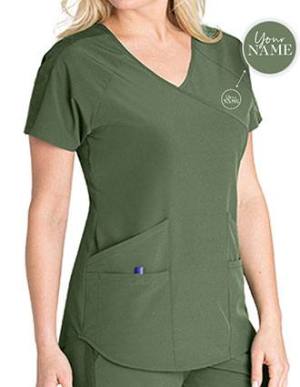 Women's 4-Pocket V-Neck Scrub Top