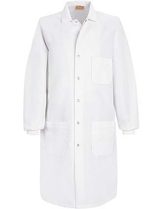 Red Kap Unisex Three Pocket Cuffed Specialized 41.5 Inches Long Lab Coat