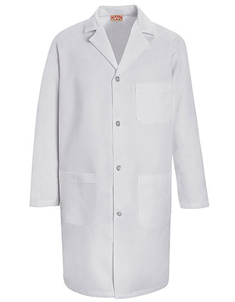 Red Kap Mens 39 inch Three Pocket Long Staff Lab Coat