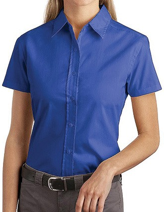 Sanmar Port Authority Womens Easy Care and Soil Resistant Shirt