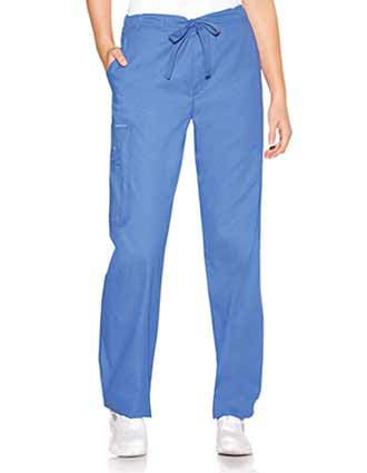 Skechers Unisex Twill Drawstring Utility Medical Scrub Pants