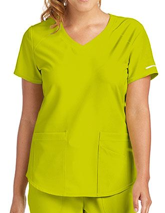 Skechers Women's Vitality V-neck Basic Scrubs Top