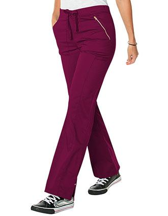 Smitten Blush Women's Hype Straight Leg Tall Scrub Pant