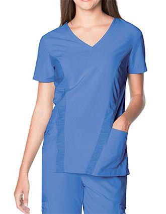 Urbane Performance Women's V-Neck QuickCool Solid Scrub Top