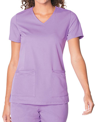 Urbane Ultimate Women's V-Neck Solid Scrub Top
