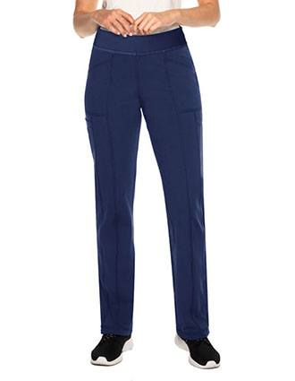 Urbane Impulse Interlock Women's Cargo Pant With Exposed Elastic Waist