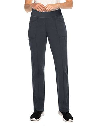 Urbane Impulse Interlock Women's Cargo Petite Pant With Exposed Elastic Waist