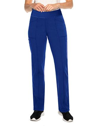 Urbane Impulse Interlock Women's Cargo Tall Pant With Exposed Elastic Waist