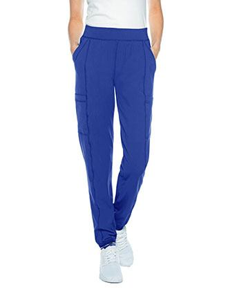 Urbane Impulse Women's Interlock Jogger Scrub Petite Pant