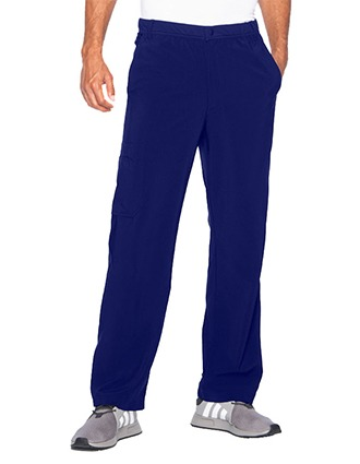 Urbane Men Pant With Knit Panels