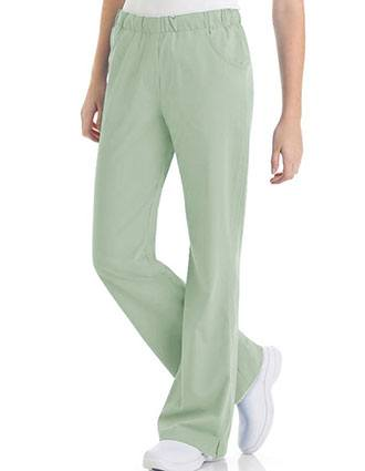 Urbane Ultimate Women's Comfort Elastic Waist Medical Scrub Pants