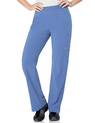 Urbane Performance Womens Activent Cargo Petite Scrub Pant