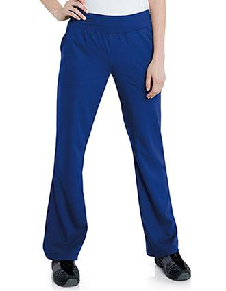 51edb942189 Shop Flare Leg Scrub Pants - Easy Return and Exchange | PulseUniform