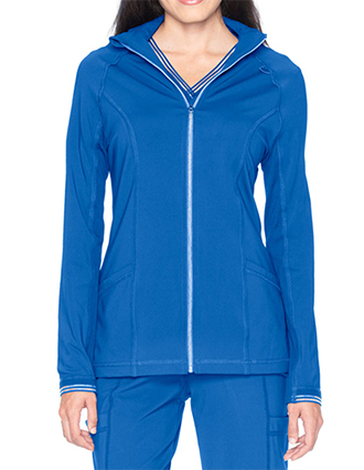 Urbane Impulse Women's Jacket With Knit Insets