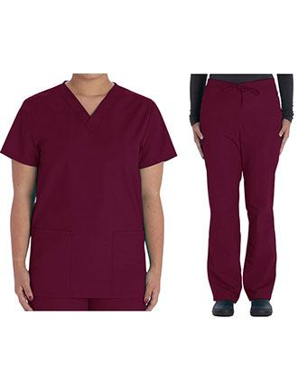 Vital Threads Unisex V-Nevk Scrub Sets