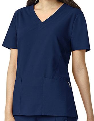 Vera Bradley Halo Women's Audrey V-neck Scrub Top