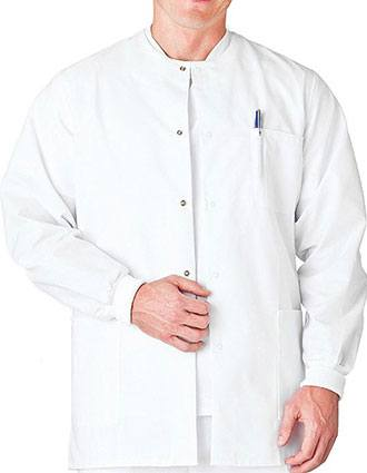 White Swan Fundamentals Men's Warm-Up Scrub Jacket