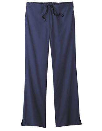 White Swan Fundamentals Women'S Mid-Rise Professional Drawstring Tall Pant