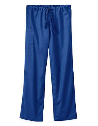 White Swan Fundamentals Unisex Full Drawstring Tall Scrub Pant