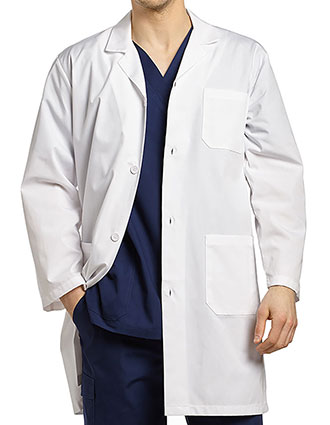 White Cross Men's Iconic Long Lab Coat