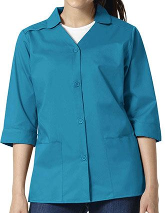 Wonderwink Wonderwork Womens 28 Inch Short Lab Coat