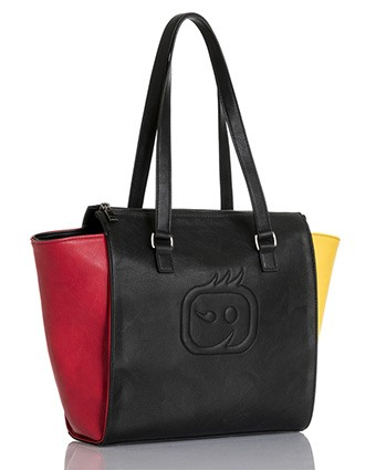 WonderWink Accessories Unisex Colorblock Tote Bag