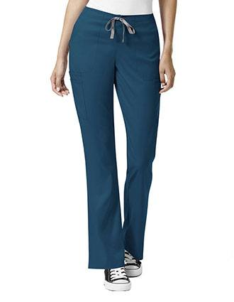 WonderWink Pro Women's Drawstring Cargo Scrub Pants