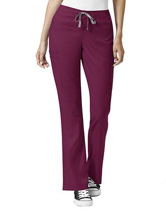 WonderWink Pro Women's Drawstring Cargo Scrub Tall Pants