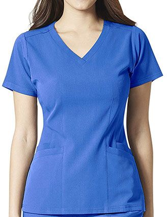 WonderWink AERO Women's Flex Back V-Neck Scrub Top