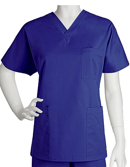 Barco ICU Unisex Three Pocket V-Neck Nurses Scrub Top