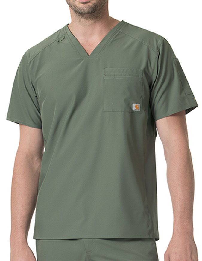 Carhartt Liberty Men's V-neck Scrub Tops