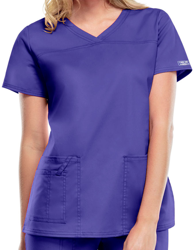 Cherokee Workwear Women's V-Neck Nursing Scrub Top