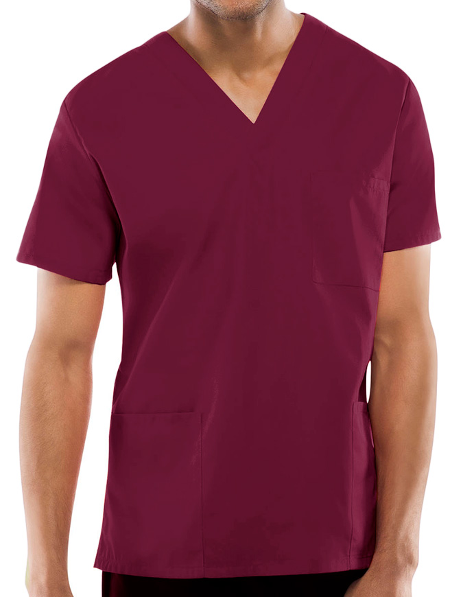 Cherokee Workwear Unisex Three Pocket Scrub Top