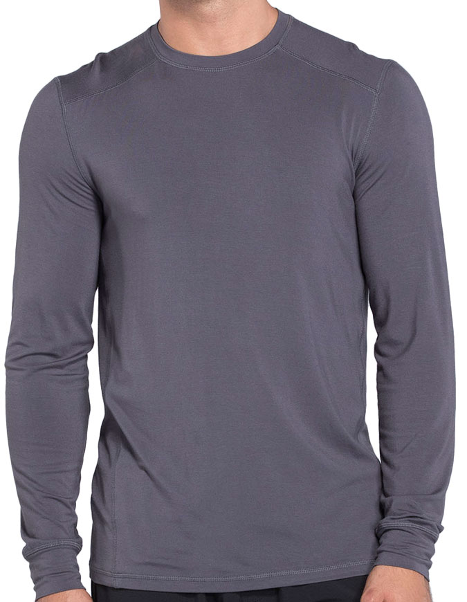 Cherokee Infinity Men Long Sleeve Underscrub Knit Top