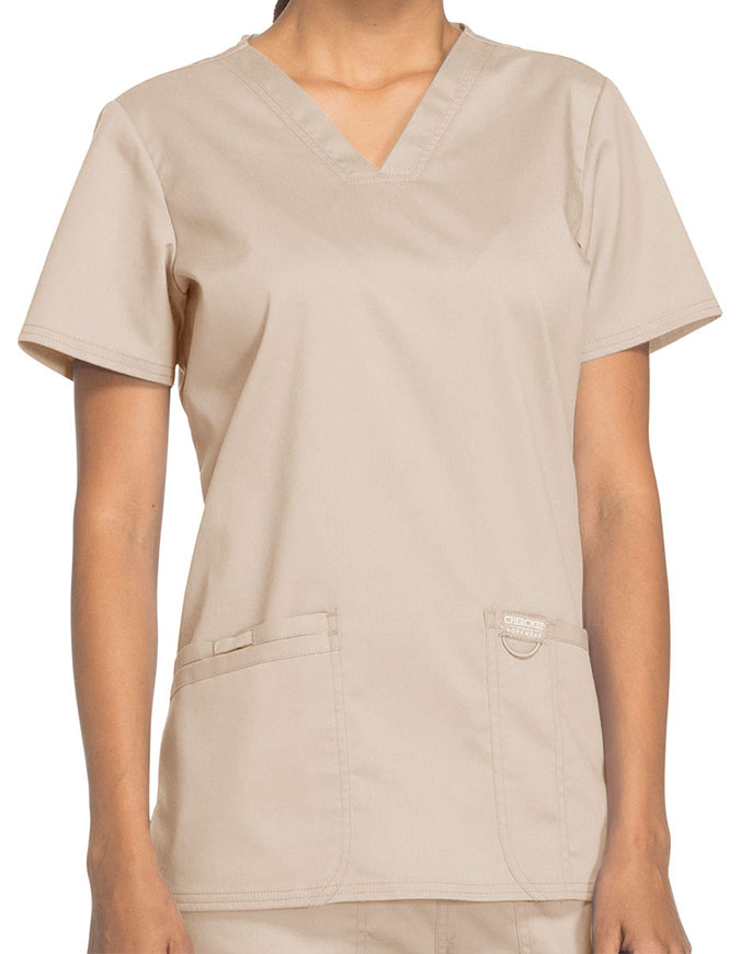 Cherokee Workwear Revolution Womens Nursing V-Neck Top