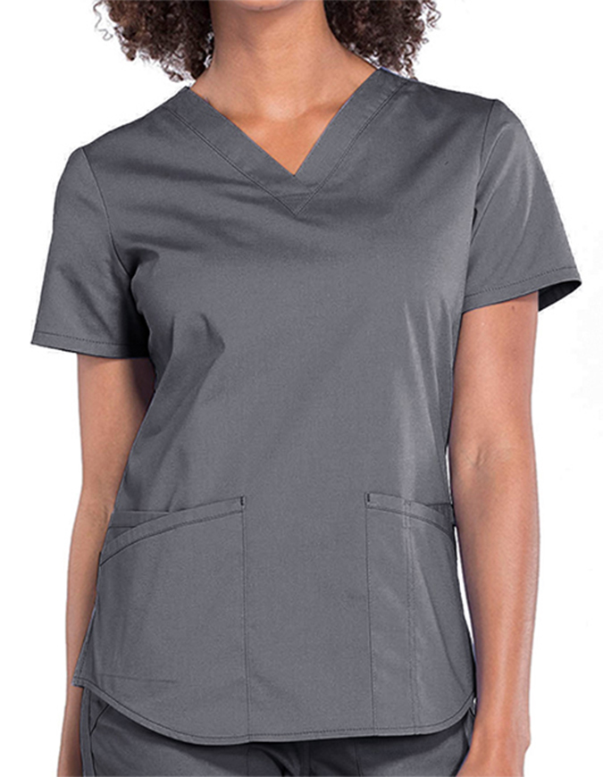 Cherokee Workwear Professionals V-neck Solid Top