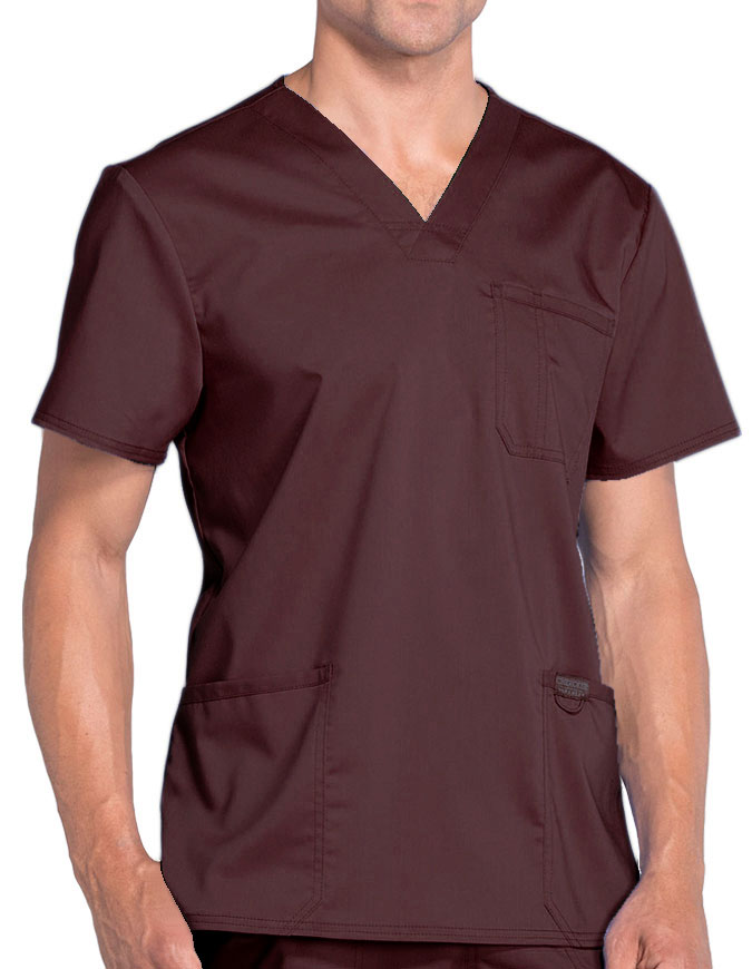 Cherokee Workwear WW Revolution Men's V-Neck Top