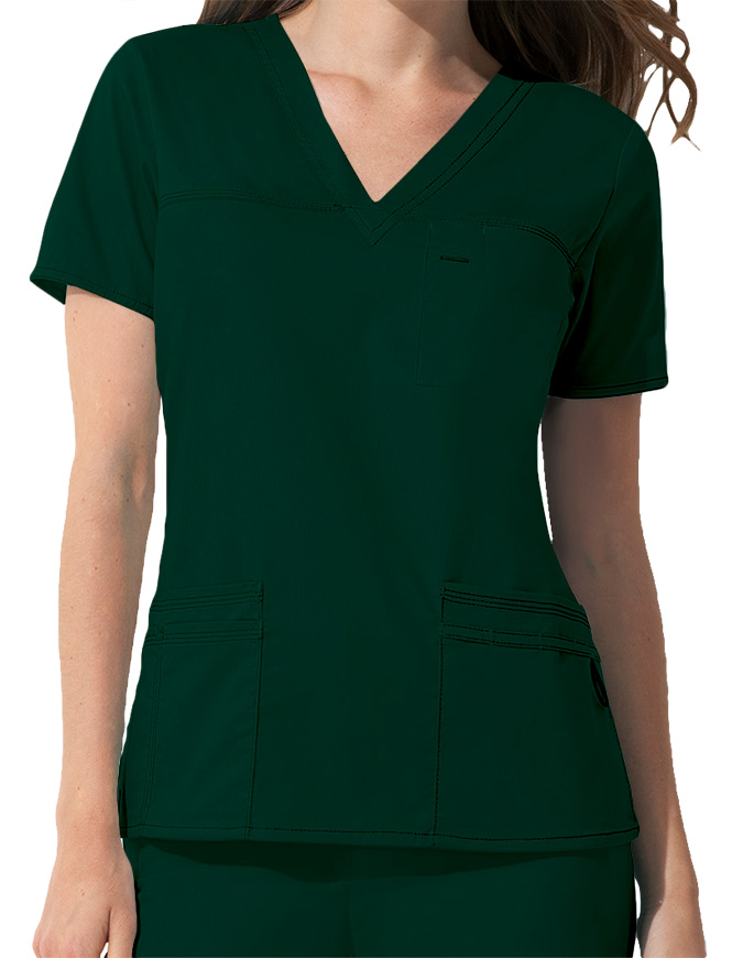 ac84941c86a Dickies GenFlex Junior Fit Youtility Basic Scrub Top