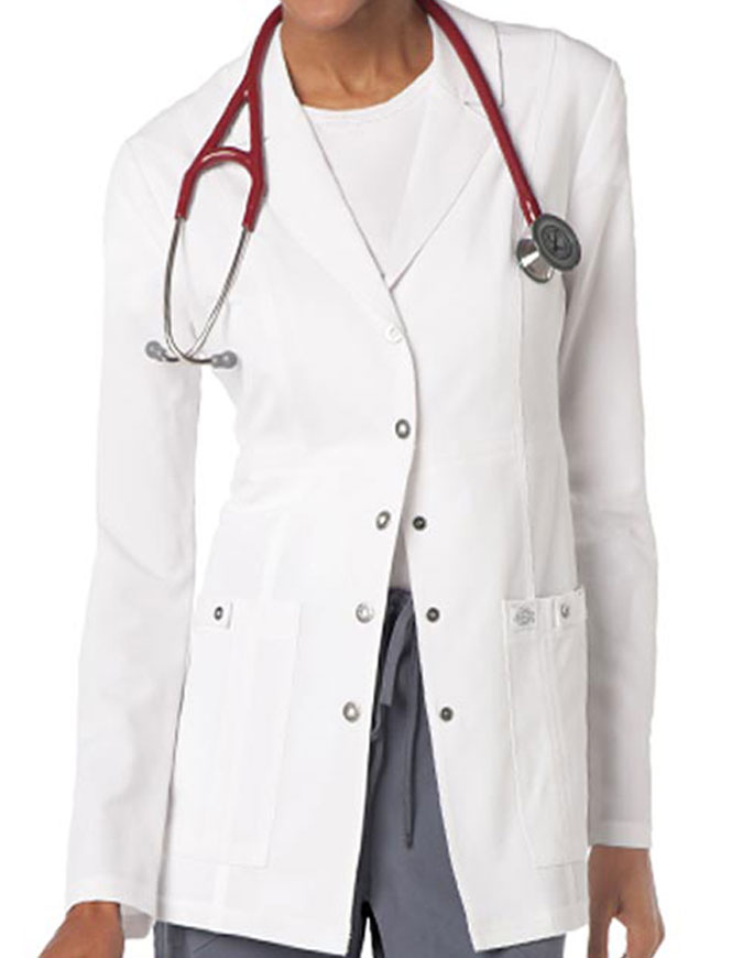 Dickies Xtreme Stretch Junior Fit 28 Inches Lab Coat