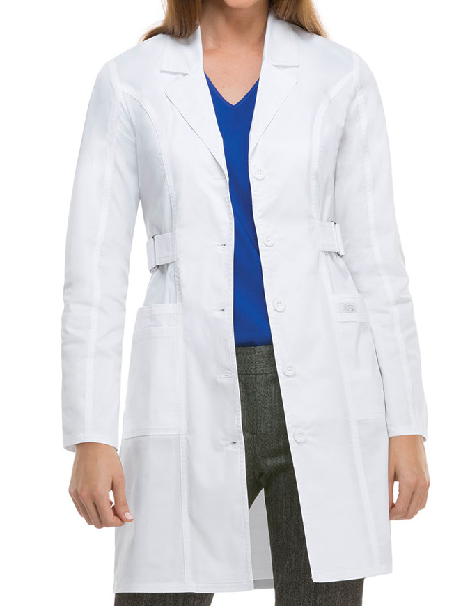 Dickies GenFlex Women's 36 Inches Junior Fit Long Lab Coat
