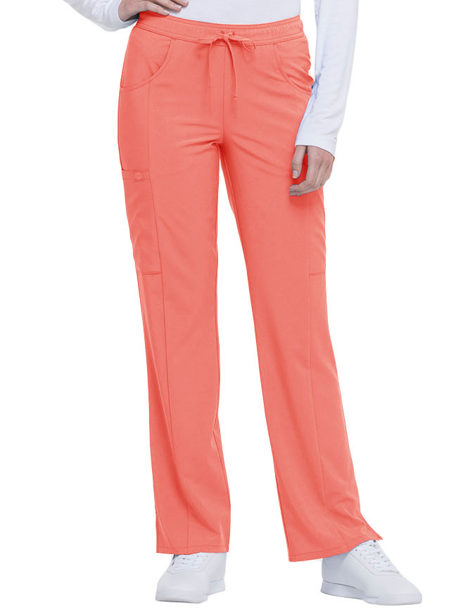 Dickies EDS Essentials Women's Mid Rise Straight Leg Drawstring Petite Pant