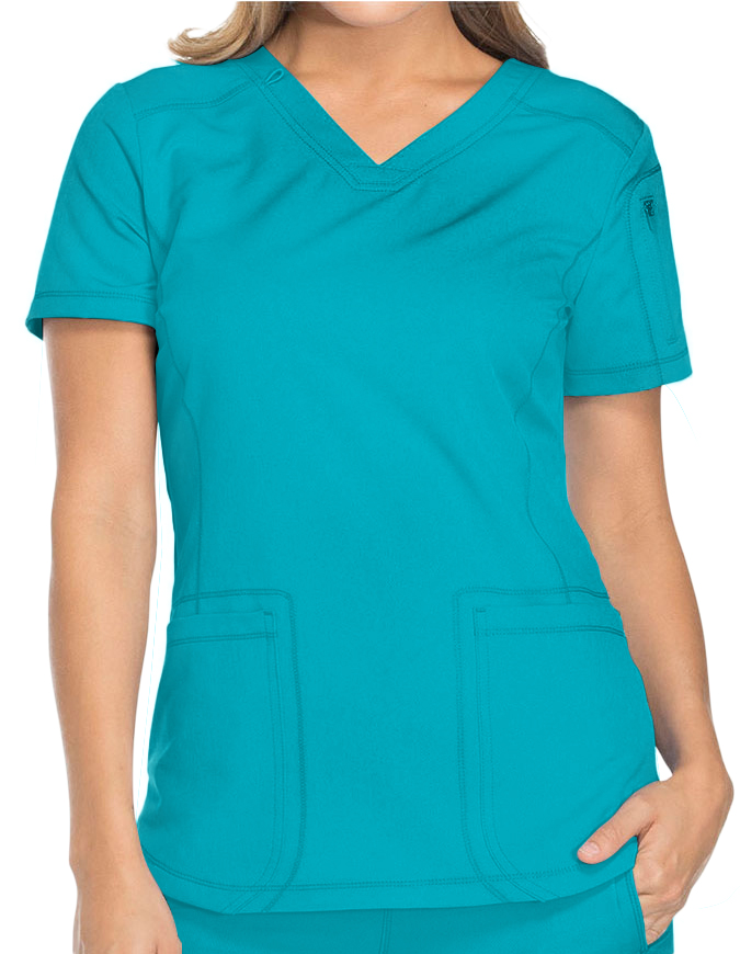 Dickies Dynamix Women's Contemporary fit V-neck top