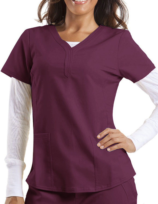 Healing Hands Purple Label Women's Y-neck Jane Top