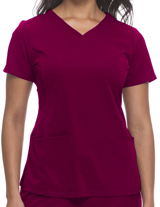 Healing Hands HH WORKS Women's V-neck Monica Top