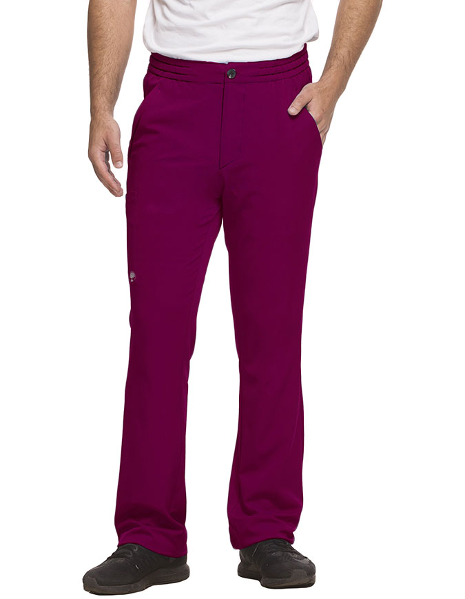 Healing Hands HH WORKS Men's Elastic Waist Petite Ryan Pant